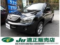2010 TOYOTA HARRIER HYBRID