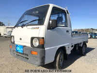 1992 SUBARU SAMBAR TRUCK THREE SIDES OPEN STD F 5MT 4WD