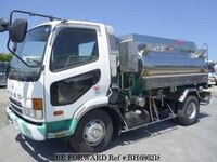 2000 MITSUBISHI FIGHTER STAINLESS STEEL TANK TRUCK