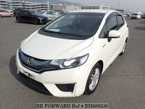 Used 2014 HONDA FIT HYBRID BH689236 for Sale for Sale