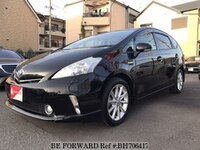 2012 TOYOTA PRIUS ALPHA 1.8S TOURING SELECTION