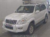 Used 2003 TOYOTA LAND CRUISER PRADO BH727737 for Sale for Sale