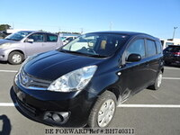 2010 NISSAN NOTE BROWNIE INTERIOR