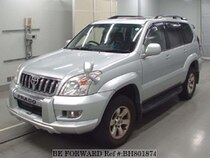 Used 2004 TOYOTA LAND CRUISER PRADO BH801874 for Sale for Sale