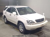 1999 TOYOTA HARRIER EXTRA G PACKAGE