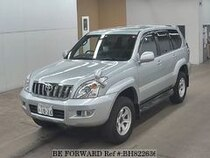 Used 2002 TOYOTA LAND CRUISER PRADO BH822636 for Sale for Sale