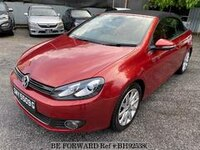 2012 VOLKSWAGEN GOLF CABRIOLET-NAVI-SENSOR-LEATHER