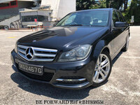 2011 MERCEDES-BENZ C-CLASS REVERSE-CAMERA