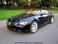 2005 BMW 6 SERIES CONVERTIBLE RWD