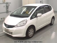 2013 HONDA FIT 13G SMART SELECTION FINE STYLE